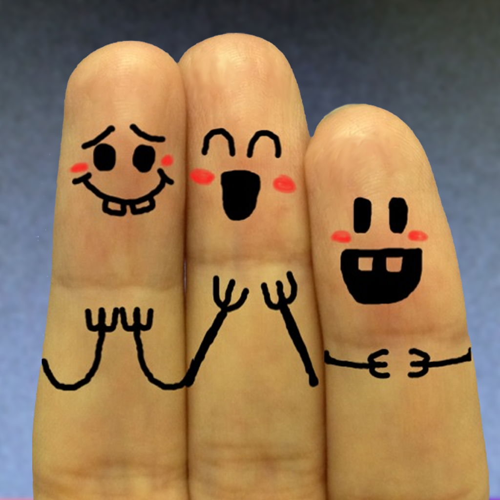 free cool finger faces